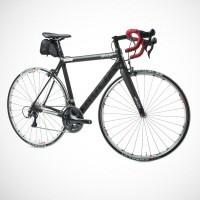 Dieser Rennrad-Rahmen wiegt 860 Gramm und hat Platz für einen Elektromotor