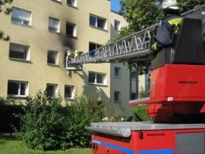 Der Wohnungsbrand wurde wahrscheinlich durch einen E-Bike-Akku ausgelöst.