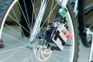 Prototyp einer drahtlosen Bremse