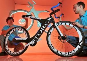 Innovatives E-Bike von der TU Chemnitz und der Storck Bicycle GmbH entwickelt