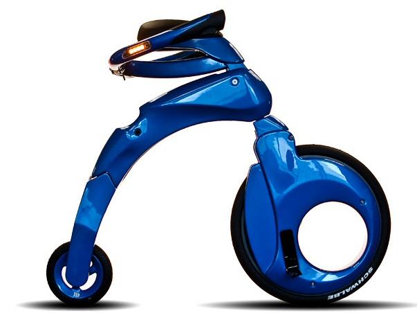 epower yikebike abgefahrenes e bike zum klappen. Black Bedroom Furniture Sets. Home Design Ideas