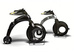 Das YikeBike in der Carbon-Version