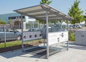 Ladestation der Donauer Solartechnik Vertriebs GmbH