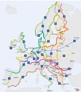 Radtouren in Europa