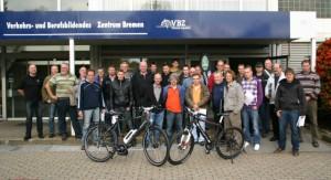 Teilnehmer der Panther-Schulung zum zertifizierten Bosch- und Panterra-Pedelec-Händler