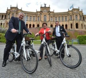 Pedelecs von Additive Bike für den bayerischen Landtag
