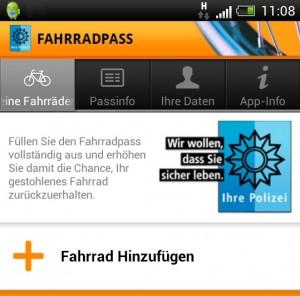 Fahrradpass App